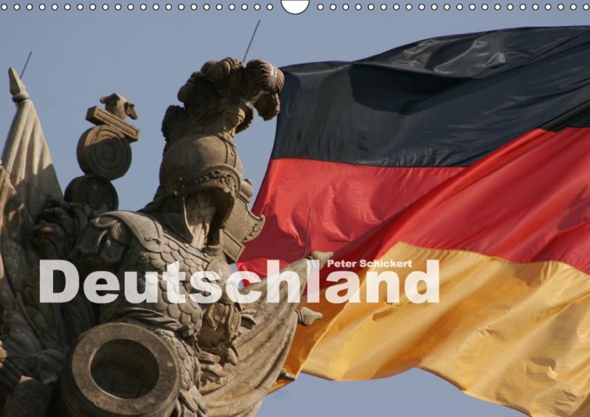 Deutschland (Wandkalender 2017 DIN A3 quer) - Coverbild