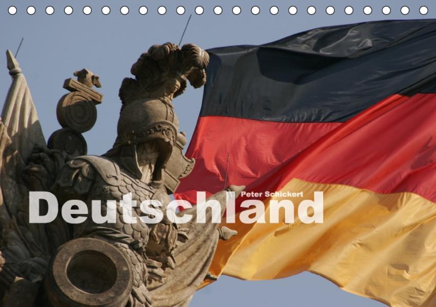Deutschland (Tischkalender 2017 DIN A5 quer) - Coverbild