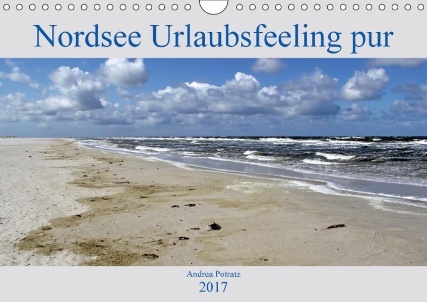 Nordsee / Urlaubsfeeling pur (Wandkalender 2017 DIN A4 quer) - Coverbild
