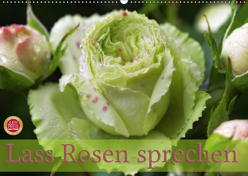 Lass Rosen sprechen (Wandkalender 2017 DIN A2 quer) - Coverbild