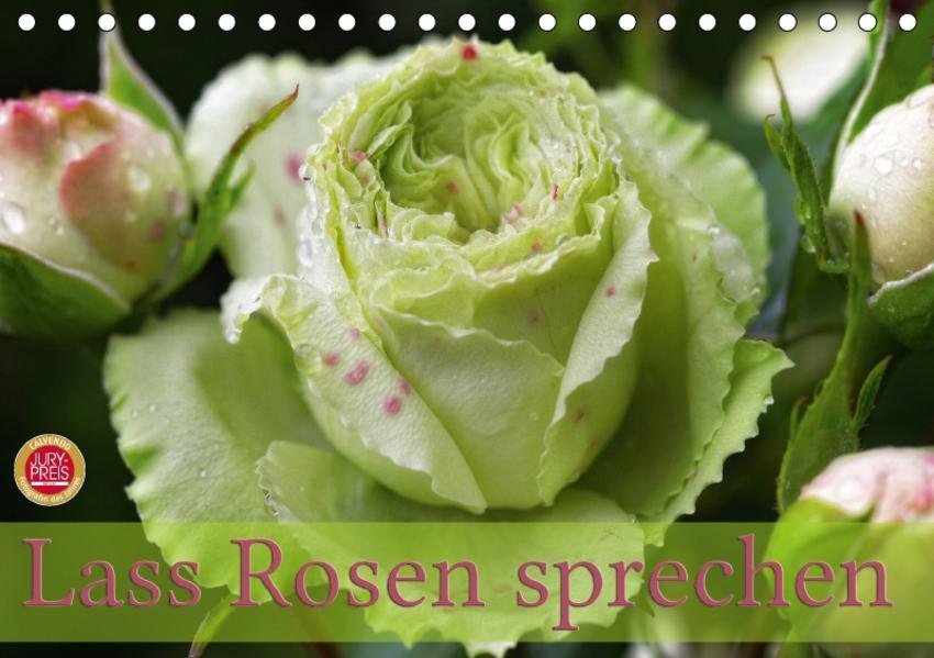 Lass Rosen sprechen (Tischkalender 2017 DIN A5 quer) - Coverbild