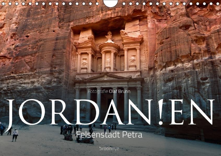 Jordanien – Felsenstadt Petra (Wandkalender 2017 DIN A4 quer) - Coverbild