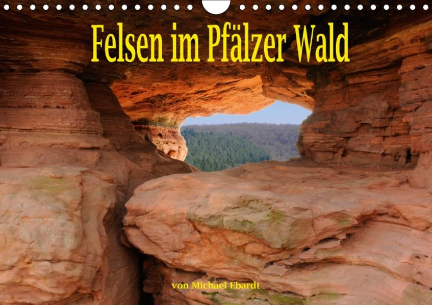 Felsen im Pfälzer Wald (Wandkalender 2017 DIN A4 quer) - Coverbild