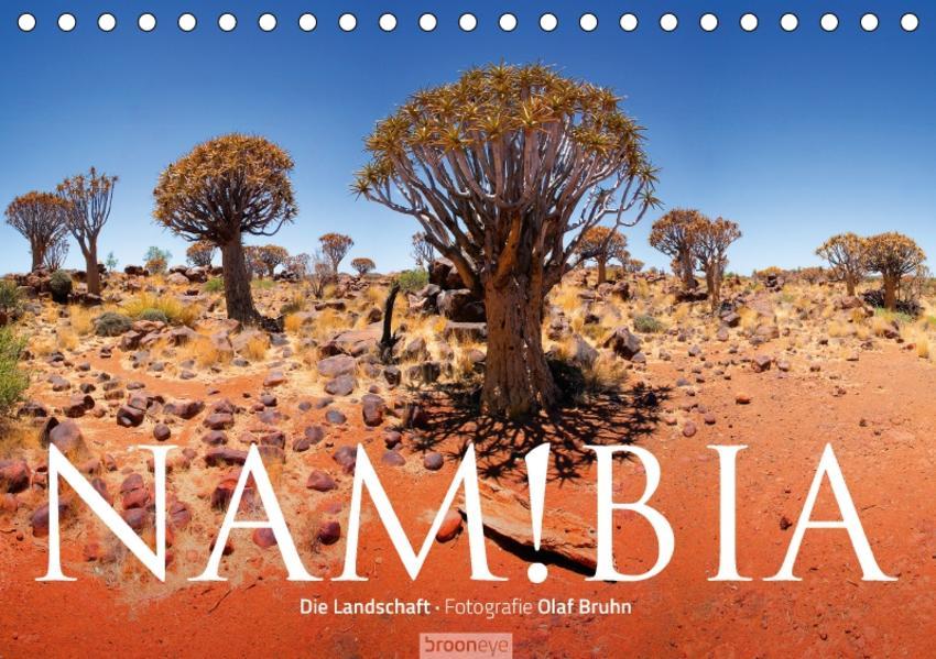 Namibia - Die Landschaft (Tischkalender 2017 DIN A5 quer) - Coverbild