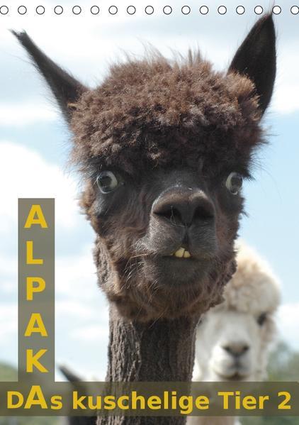 Alpaka, das kuschelige Tier 2 (Tischkalender 2017 DIN A5 hoch) - Coverbild