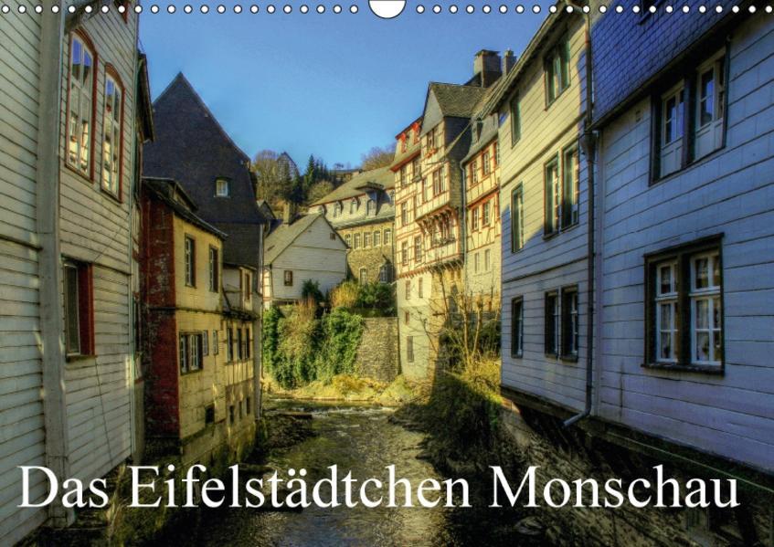 Das Eifelstädtchen Monschau (Wandkalender 2017 DIN A3 quer) - Coverbild