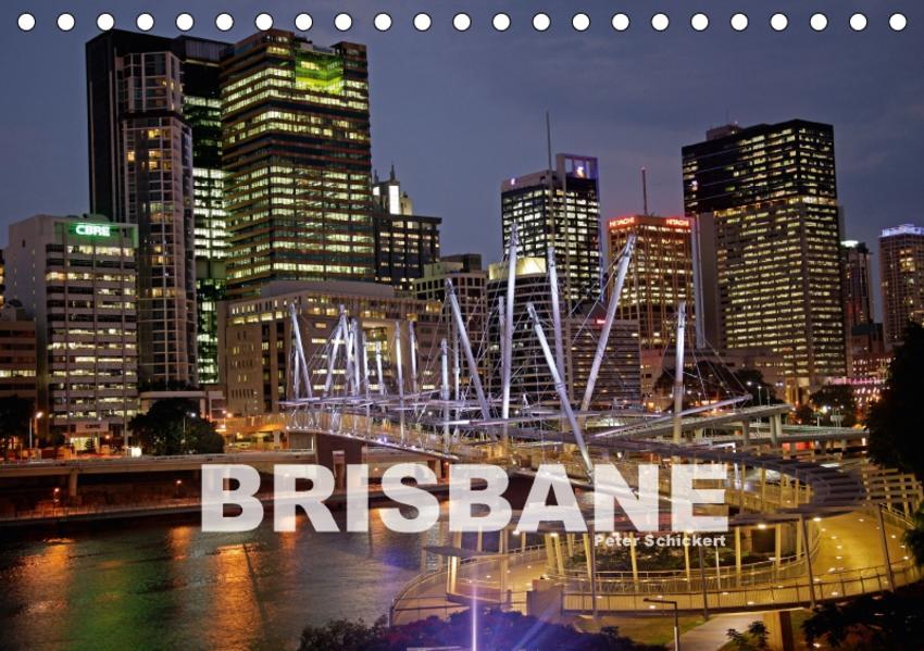 Brisbane (Tischkalender 2017 DIN A5 quer) - Coverbild