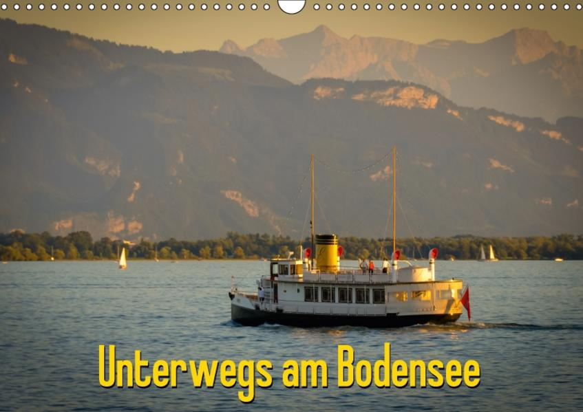 Unterwegs am Bodensee (Wandkalender 2017 DIN A3 quer) - Coverbild