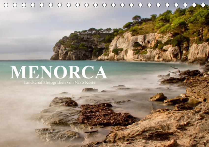 MENORCA - Landschaftsfotografien von Niko Korte (Tischkalender 2017 DIN A5 quer) - Coverbild