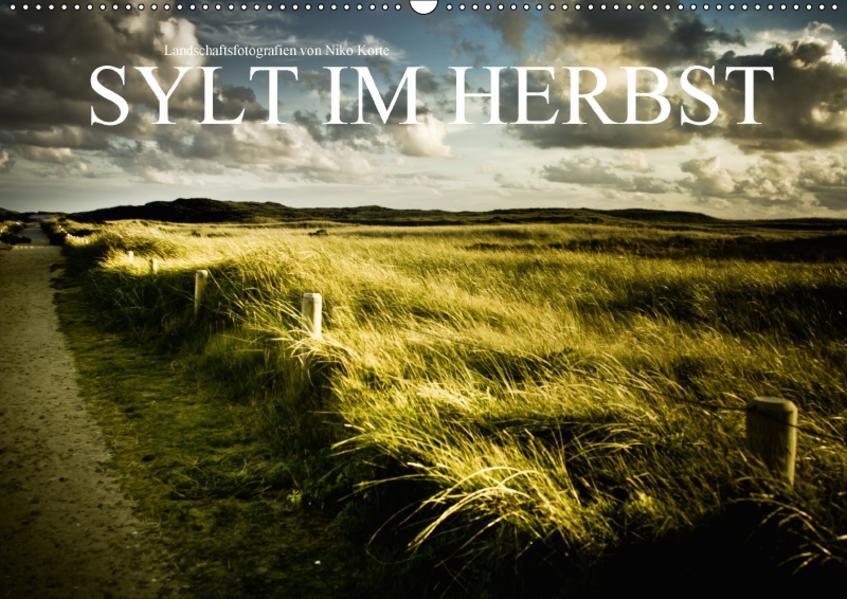 Sylt im Herbst (Wandkalender 2017 DIN A2 quer) - Coverbild