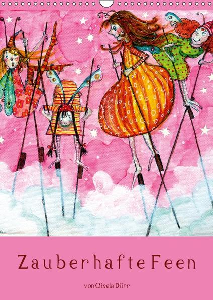 Zauberhafte Feen (Wandkalender 2017 DIN A3 hoch) - Coverbild