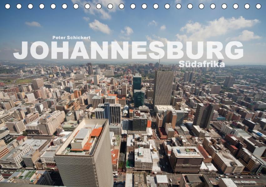 Johannesburg Südafrika (Tischkalender 2017 DIN A5 quer) - Coverbild