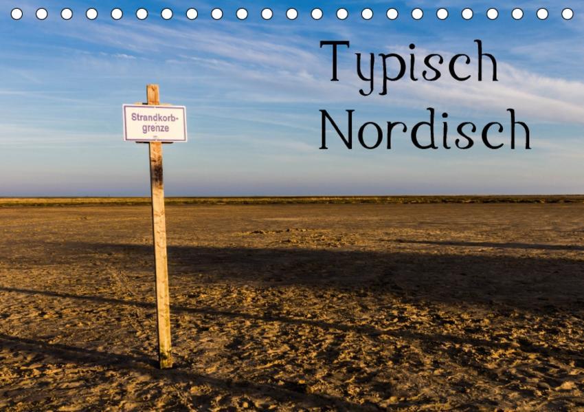 Typisch Nordisch (Tischkalender 2017 DIN A5 quer) - Coverbild