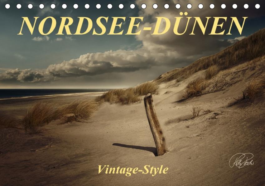 Nordsee-Dünen, Vintage-Style (Tischkalender 2017 DIN A5 quer) - Coverbild