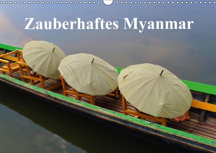 Zauberhaftes Myanmar (Wandkalender 2017 DIN A3 quer) - Coverbild