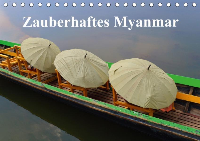 Zauberhaftes Myanmar (Tischkalender 2017 DIN A5 quer) - Coverbild