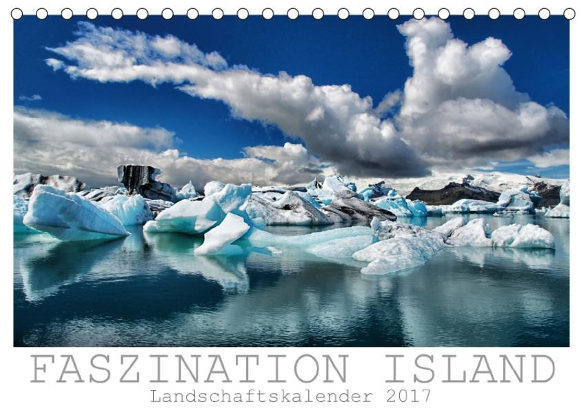 Faszination Island - Landschaftskalender 2017 / CH-Version (Tischkalender 2017 DIN A5 quer) - Coverbild