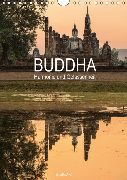 Buddha - Harmonie und Gelassenheit (Wandkalender 2017 DIN A4 hoch) - Coverbild