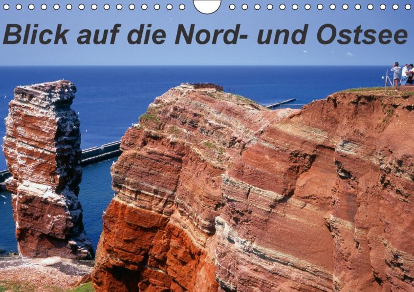 Blick auf die Nord-und Ostsee (Wandkalender 2017 DIN A4 quer) - Coverbild