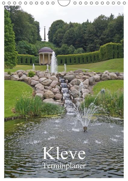 Kleve / Terminplaner (Wandkalender 2017 DIN A4 hoch) - Coverbild