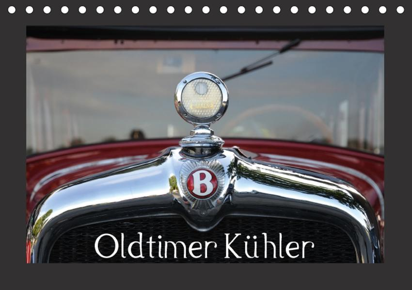 Oldtimer Kühler (Tischkalender 2017 DIN A5 quer) - Coverbild