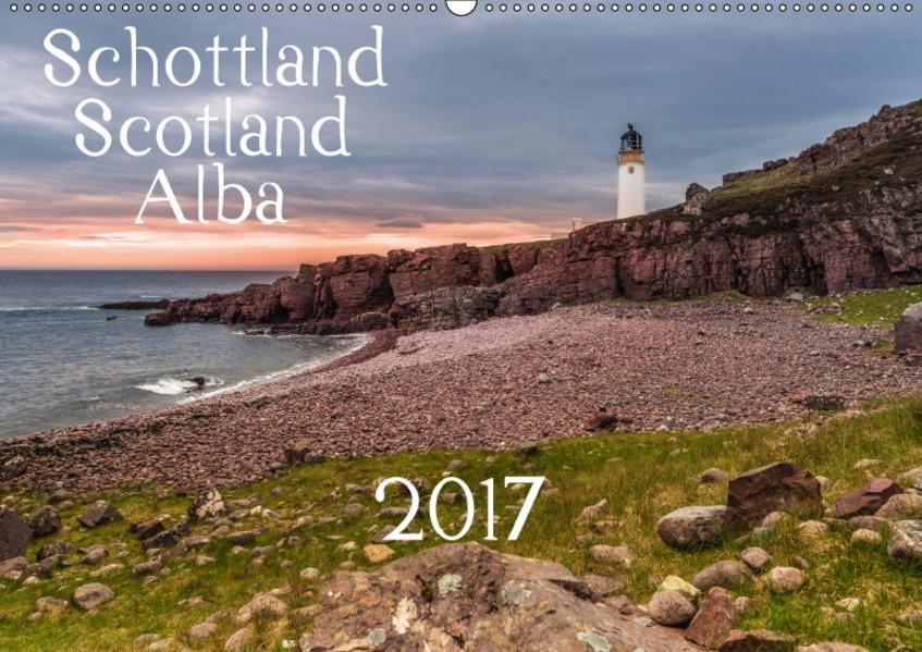 Schottland - Scotland - Alba (Wandkalender 2017 DIN A2 quer) - Coverbild
