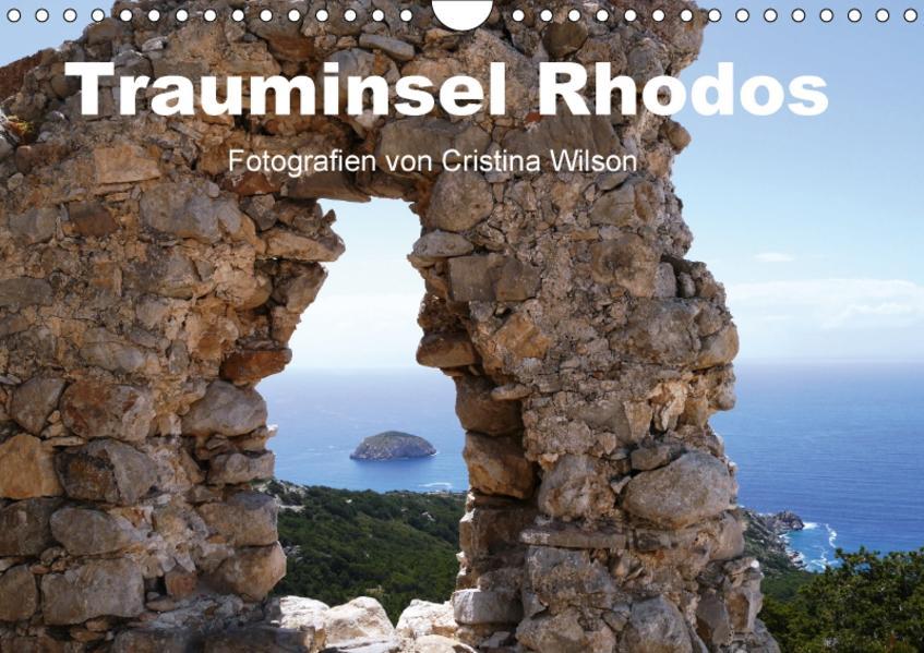 Trauminsel Rhodos (Wandkalender 2017 DIN A4 quer) - Coverbild