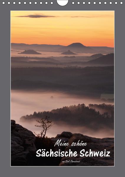 Meine schöne Sächsische Schweiz (Wandkalender 2017 DIN A4 hoch) - Coverbild