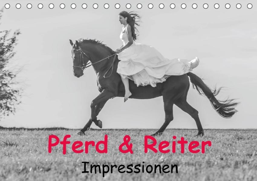 Pferd & Reiter - Impressionen (Tischkalender 2017 DIN A5 quer) - Coverbild