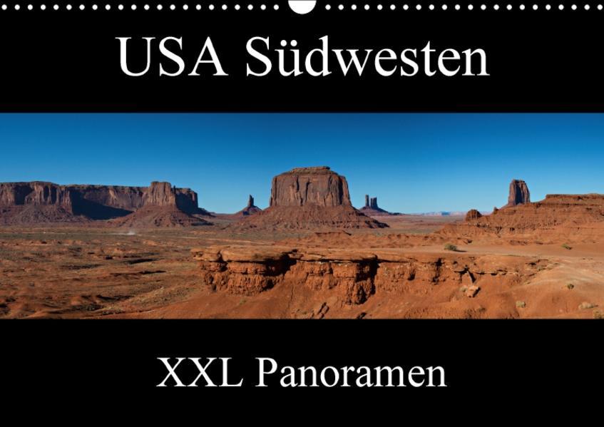 USA Südwesten - XXL Panoramen (Wandkalender 2017 DIN A3 quer) - Coverbild
