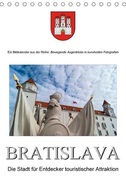 BratislavaAT-Version  (Tischkalender 2017 DIN A5 hoch) - Coverbild