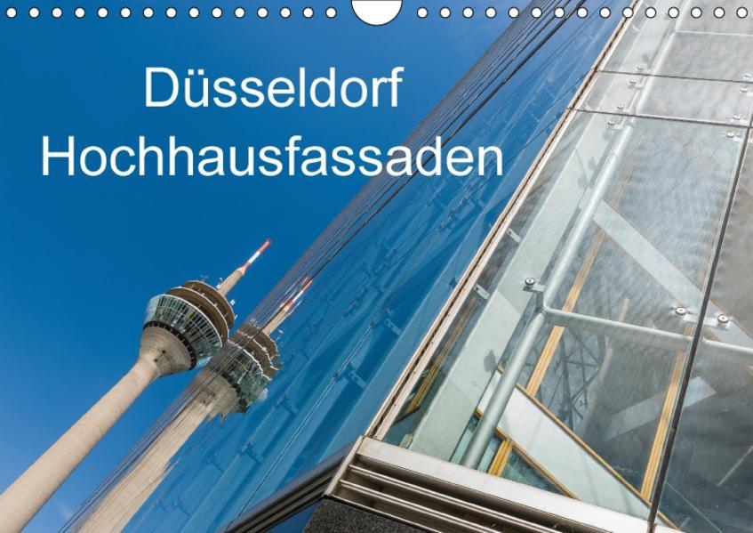 Düsseldorf - Hochhausfassaden (Wandkalender 2017 DIN A4 quer) - Coverbild