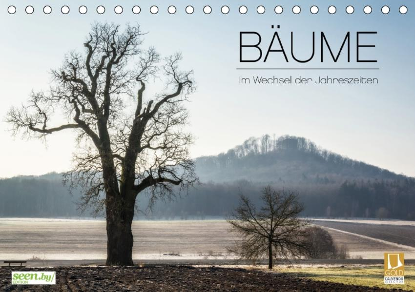 BÄUME - Im Wechsel der Jahreszeiten (Tischkalender 2017 DIN A5 quer) - Coverbild