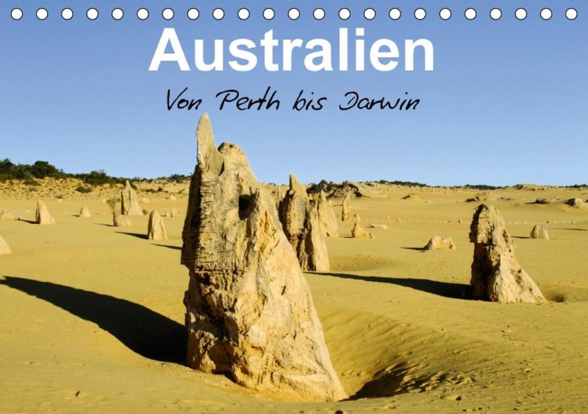 Australien - Von Perth bis Darwin (Tischkalender 2017 DIN A5 quer) - Coverbild