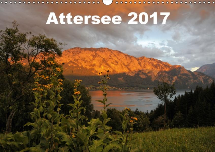 Attersee im Salzkammergut 2017AT-Version  (Wandkalender 2017 DIN A3 quer) - Coverbild