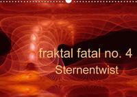 fraktal fatal no. 4  Sternentwist (Wandkalender 2017 DIN A3 quer) Cover