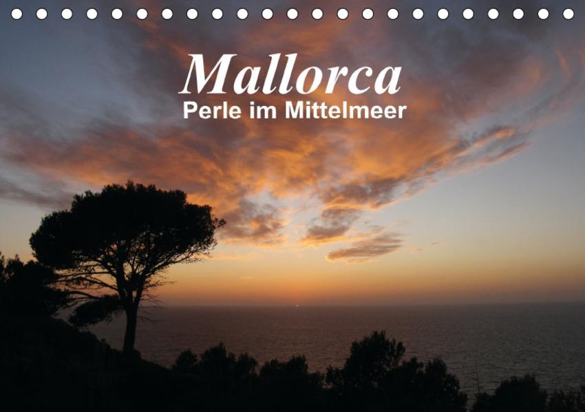 Mallorca - Perle im Mittelmeer (Tischkalender 2017 DIN A5 quer) - Coverbild