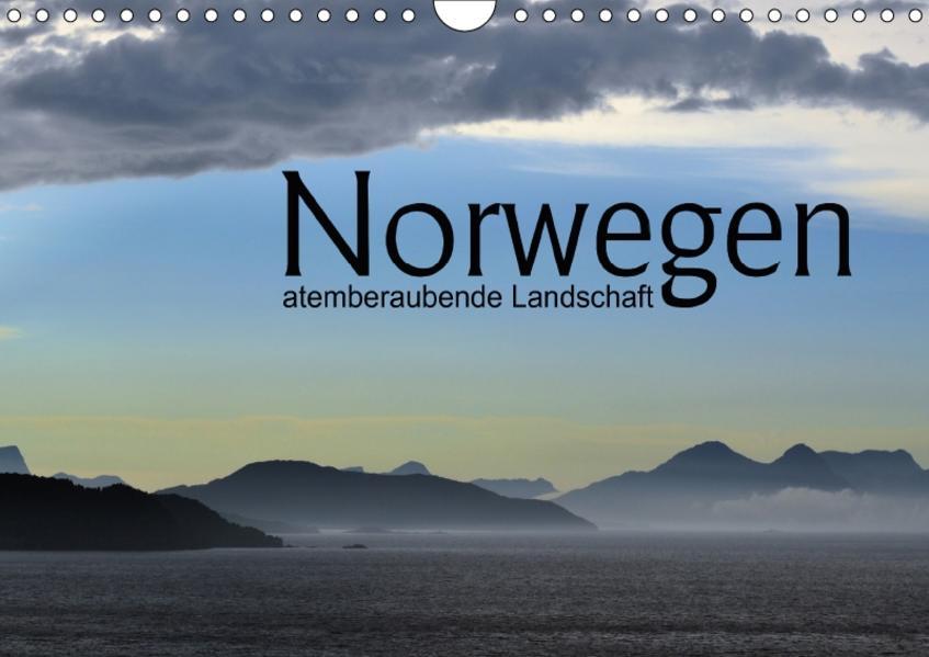 Norwegen atemberaubende Landschaft (Wandkalender 2017 DIN A4 quer) - Coverbild