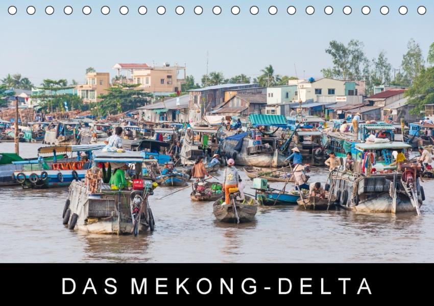 Das Mekong-DeltaAT-Version  (Tischkalender 2017 DIN A5 quer) - Coverbild
