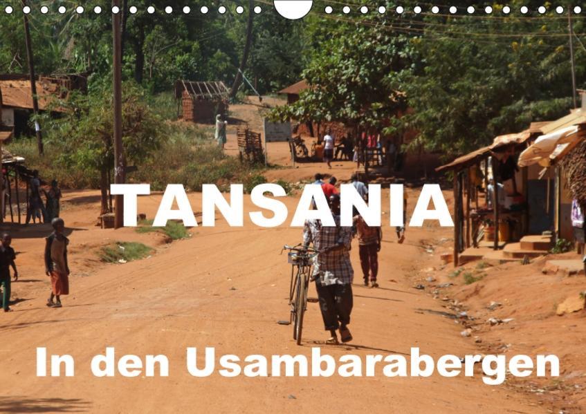 Tansania. In den Usambarabergen (Wandkalender 2017 DIN A4 quer) - Coverbild