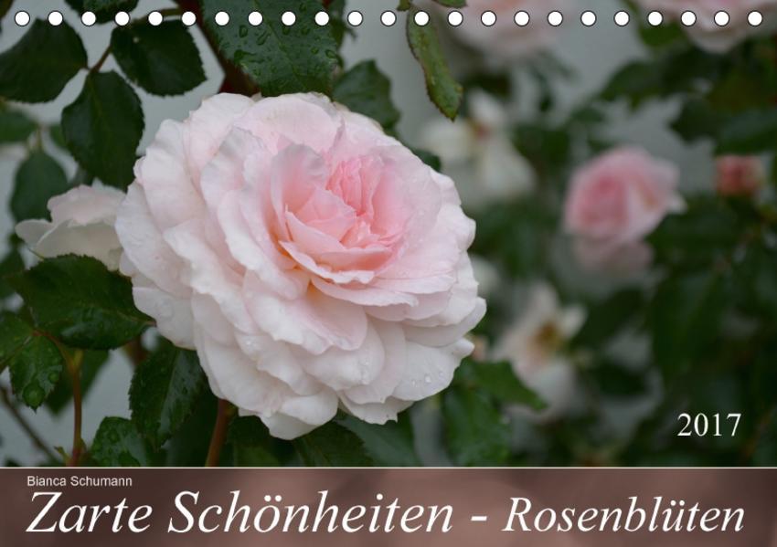 Zarte Schönheiten - RosenblütenAT-Version  (Tischkalender 2017 DIN A5 quer) - Coverbild