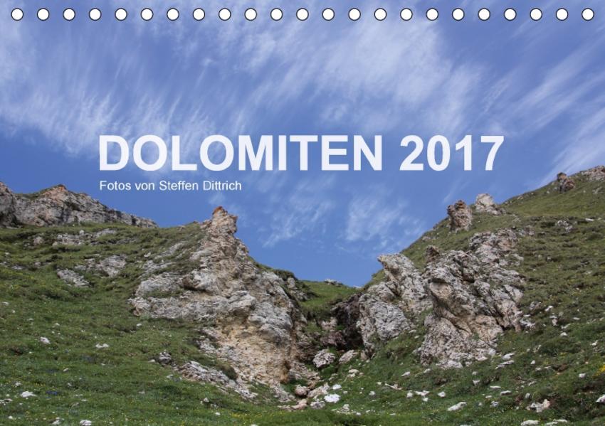 DOLOMITEN 2017 (Tischkalender 2017 DIN A5 quer) - Coverbild