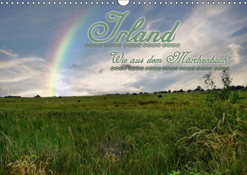 Irland wie aus dem MärchenbuchCH-Version  (Wandkalender 2017 DIN A3 quer) - Coverbild