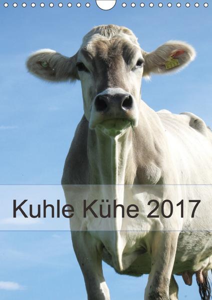 Kuhle Kühe 2017 (Wandkalender 2017 DIN A4 hoch) - Coverbild