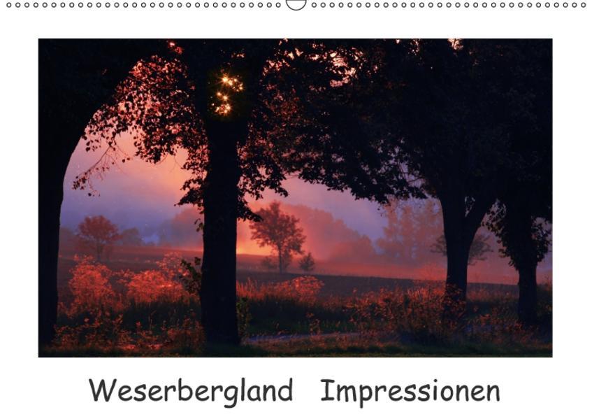 Weserbergland Impressionen (Wandkalender 2017 DIN A2 quer) - Coverbild