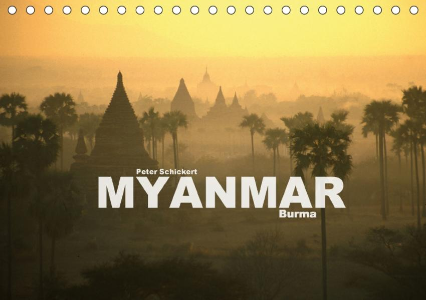 Myanmar - Burma (Tischkalender 2017 DIN A5 quer) - Coverbild