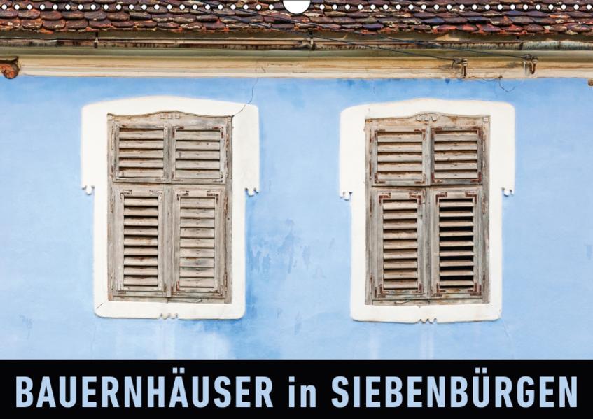 Bauernhäuser in SiebenbürgenAT-Version  (Wandkalender 2017 DIN A3 quer) - Coverbild