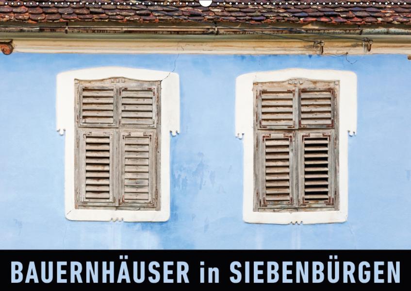 Bauernhäuser in SiebenbürgenAT-Version  (Wandkalender 2017 DIN A2 quer) - Coverbild
