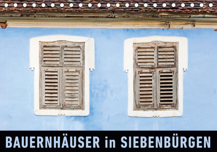 Bauernhäuser in SiebenbürgenAT-Version  (Tischkalender 2017 DIN A5 quer) - Coverbild