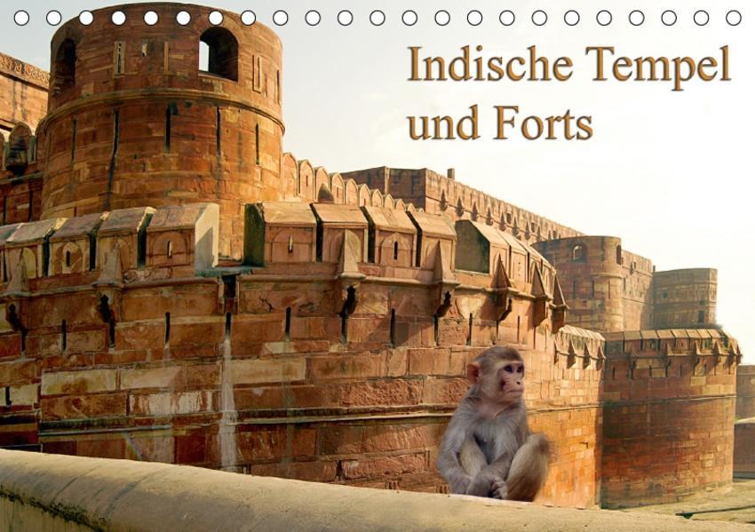 Indische Tempel und Forts (Tischkalender 2017 DIN A5 quer) - Coverbild